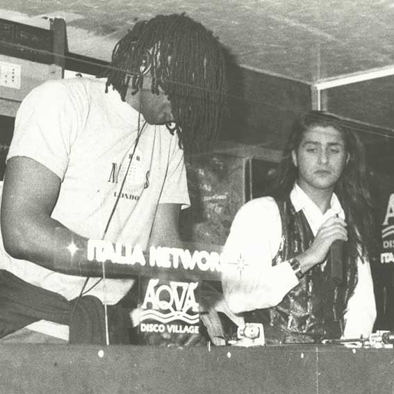 Il primo palco: la discoteca
