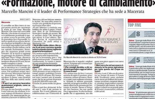Marcello Mancini   formazione motore di cambiamento