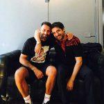 MARCELLO MANCINI | Con Marcelo Burlon dopo tanti anni
