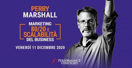MARKETING 80/20 E SCALABILITà DEL BUSINES - PERRY MARSHALL