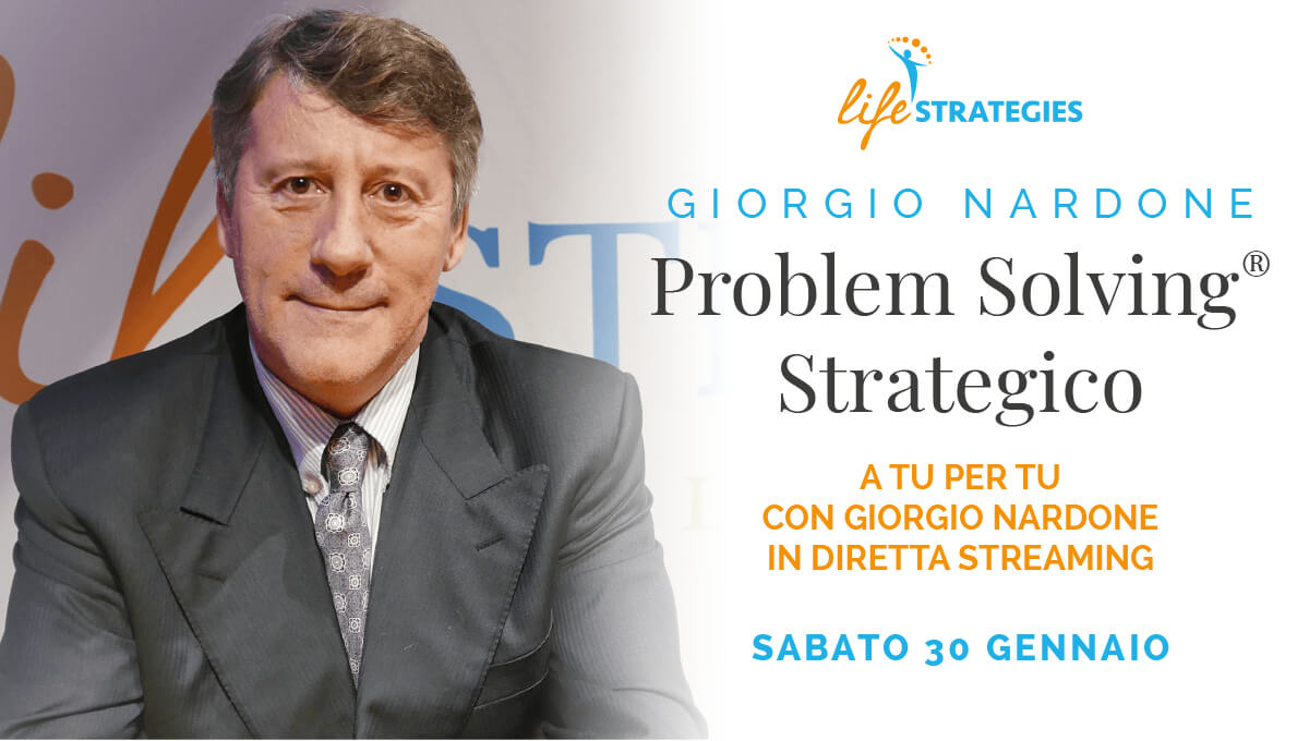PROBLEM SOLVING STRATEGICO - GIORGIO NARDONE