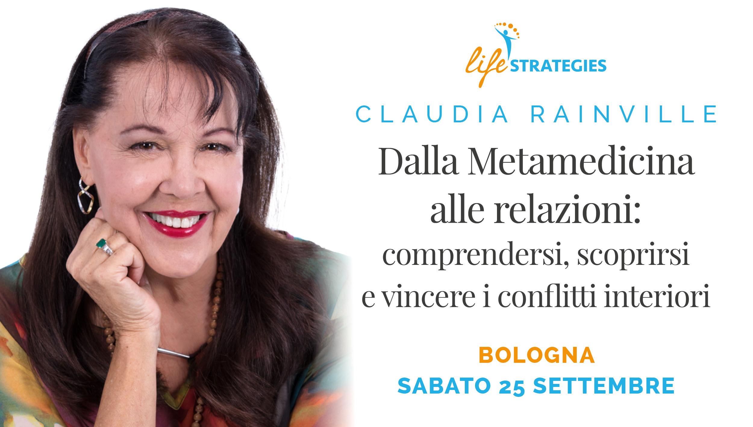 DALLA METAMEDICINA ALLE RELAZIONI - CLAUDIA RAINVILLE